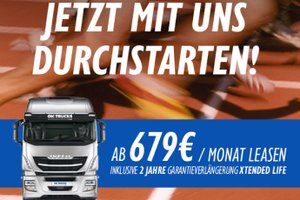 IVECO Stralis ab 679 € inkl. 2 Jahre XTENDED LIFE leasen